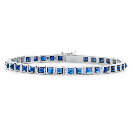 Inverted Set Princess Tennis Bracelet