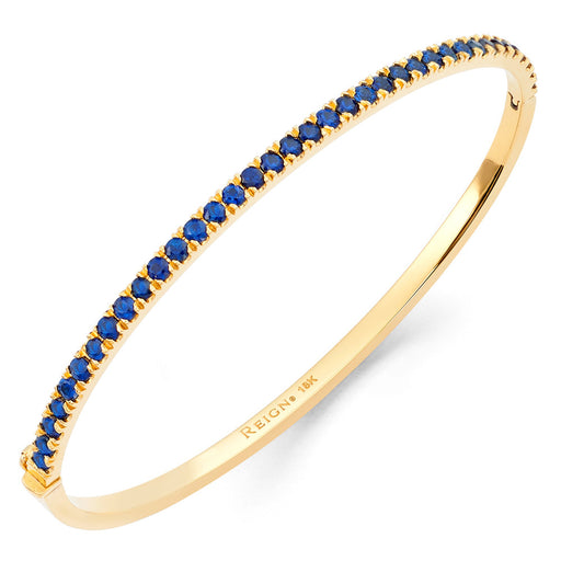 Classic Reign 1/2 Bangle in Yellow Gold