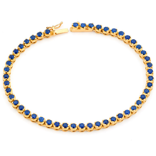 Classic Tennis Bracelet in Yellow Gold