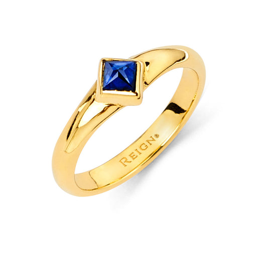 Reign Tip Ring in Yellow Gold