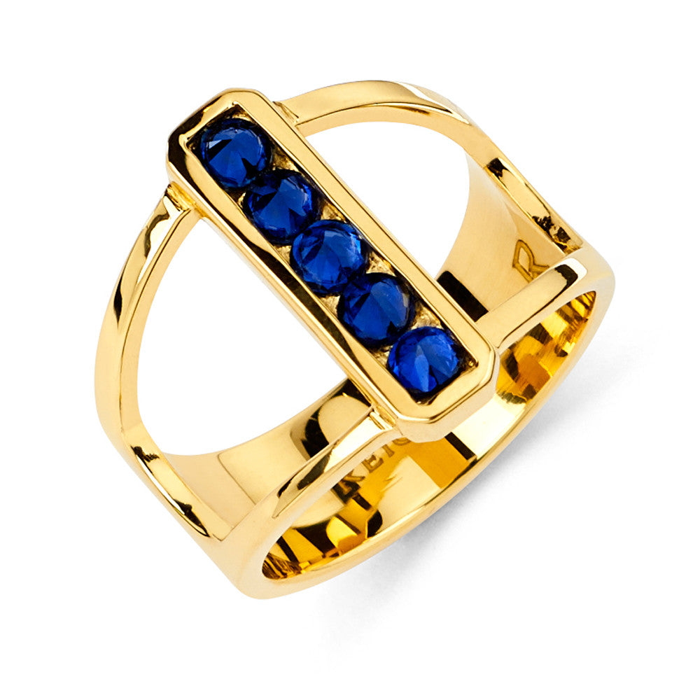 I-Reign Ring in Yellow Gold