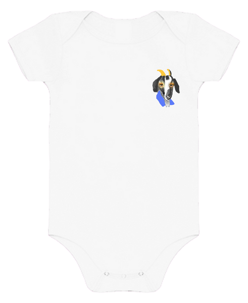 Goat Baby Body Suits
