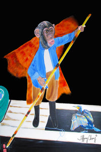 The Monkey Fisherman