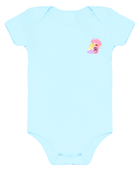 Rooster Baby Body Suits