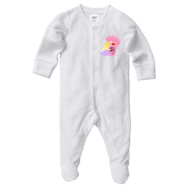 Rooster Baby Coveralls