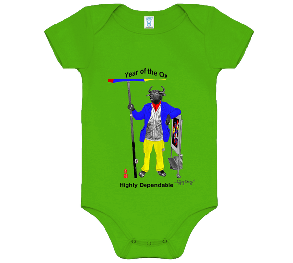 Year of the Ox Baby Bodysuits