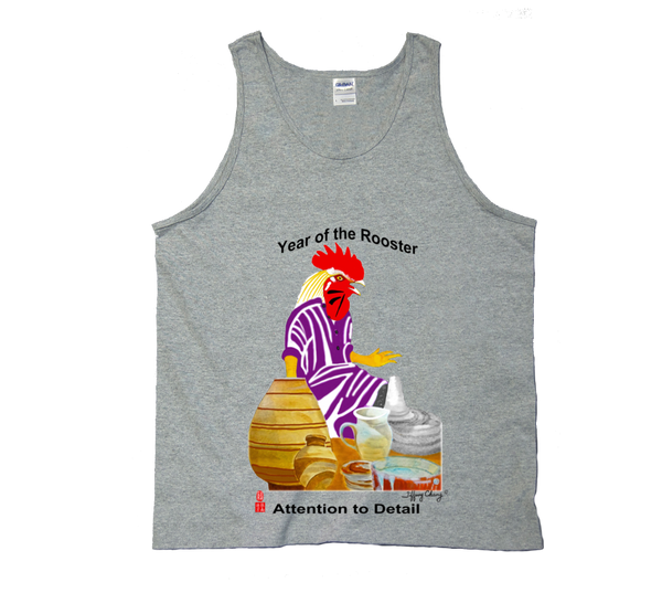 Year of the Rooster Tank Tops