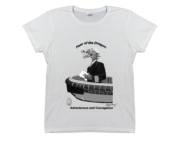 Year of the Dragon White T-Shirt