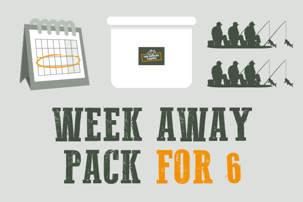 Week Away Pack for 6