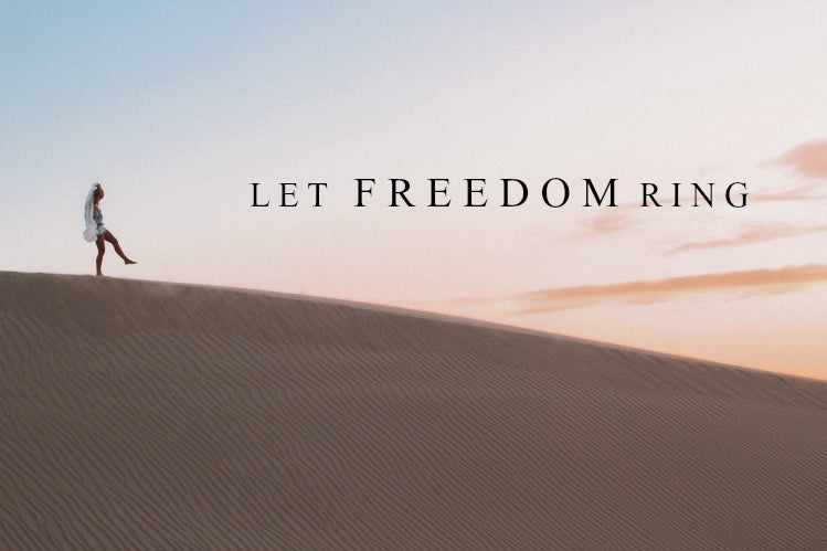 Let Freedom Ring | March Monthly Blog