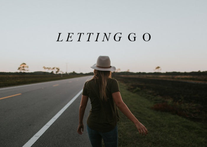 Letting Go | October Monthly Blog
