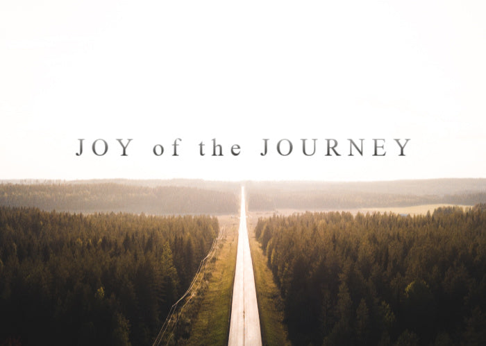 The Joy Of The Journey | August Monthly Blog