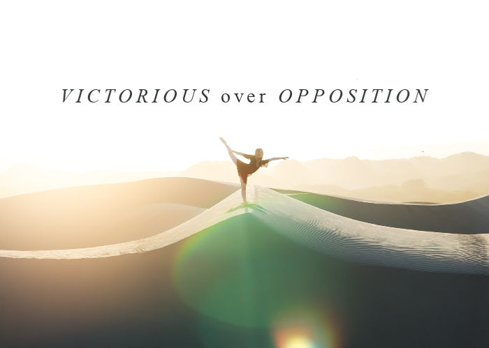 Victorious Over Opposition | October Monthly Blog