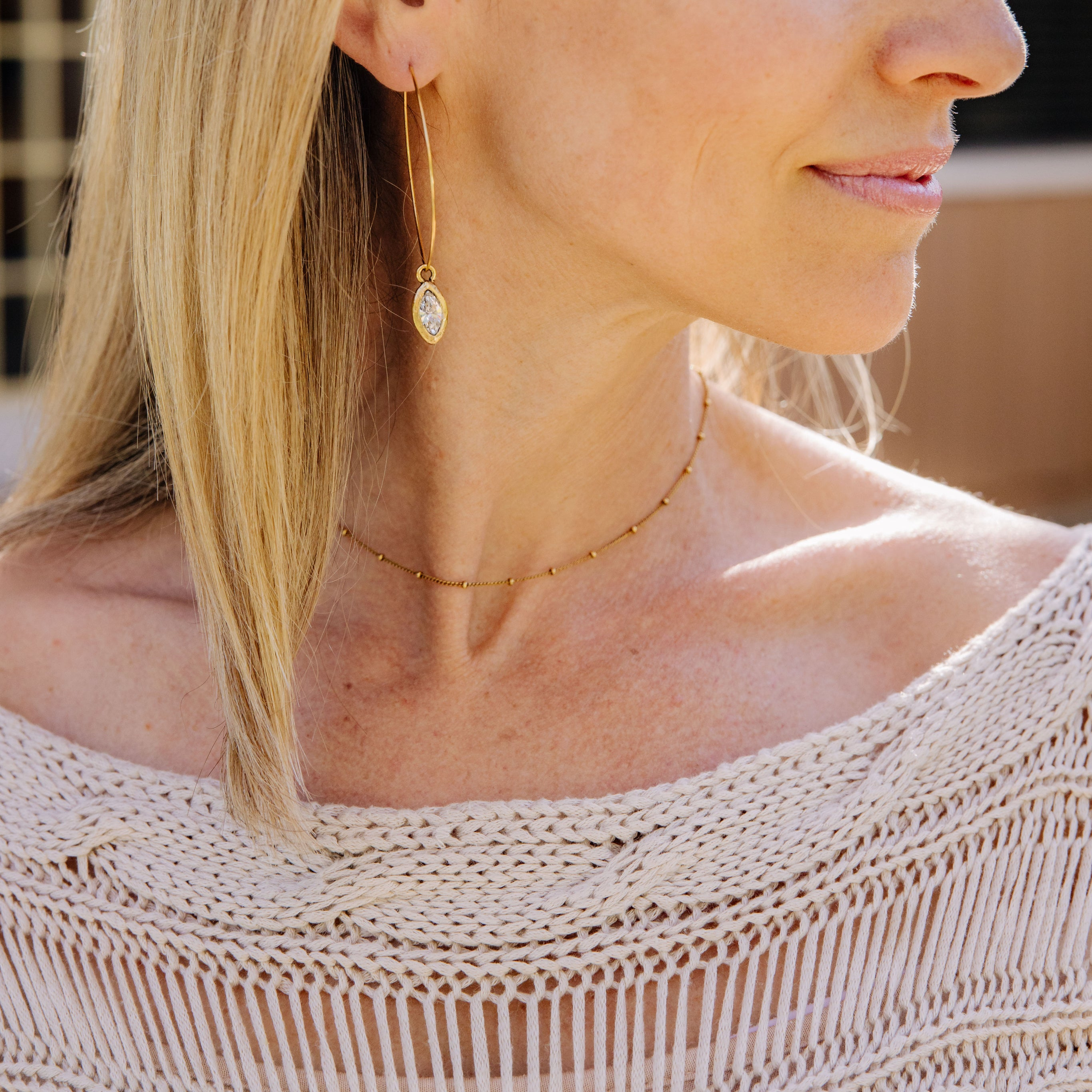 """Gold Within"" Choker Necklace"