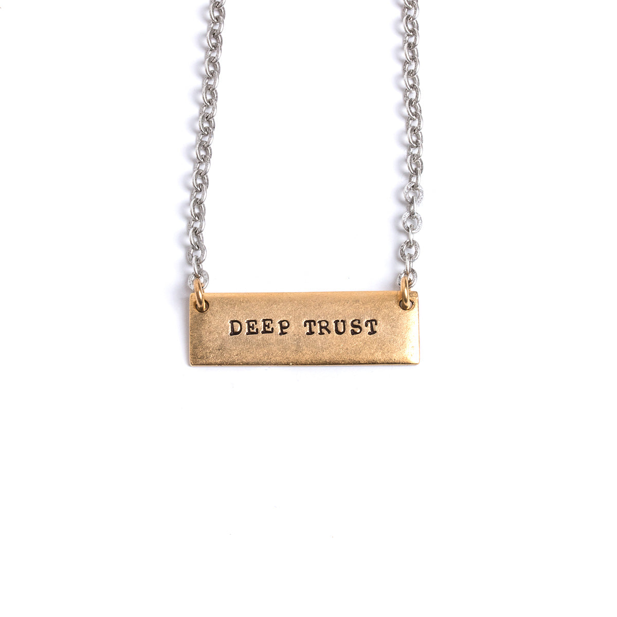 Brave Dreamer/Deep Trust Tema necklace