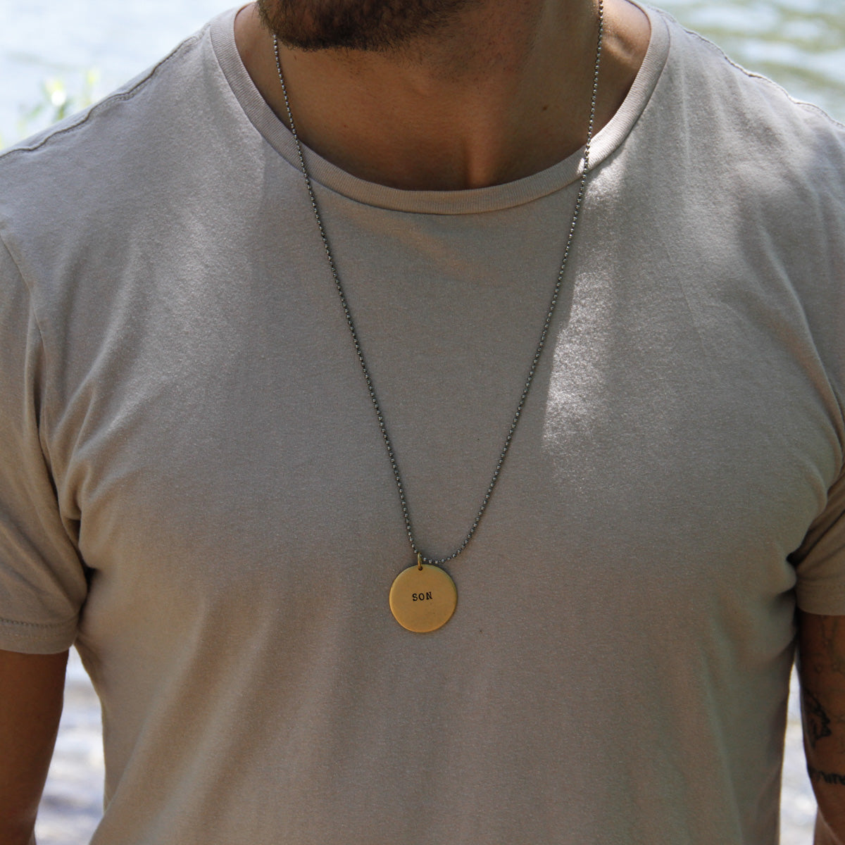 Heaven Inspired Rissah Necklace for MEN