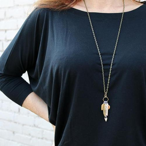 Heart Pursuit Long Necklace
