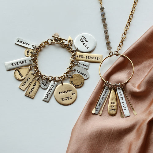 He is Love Set: Jericho Bracelet and Necklace