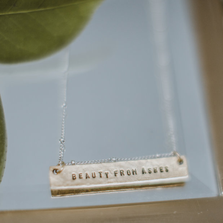 Beauty From Ashes Gilead Necklace