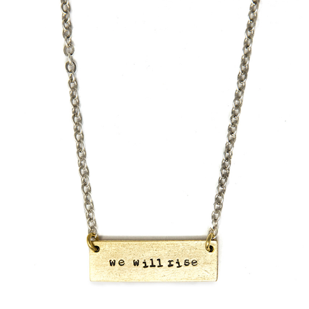 We Will Rise Tema Necklace