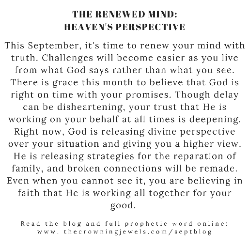 September Monthly Prophetic | Heaven's Perspective 5-Charm Necklace