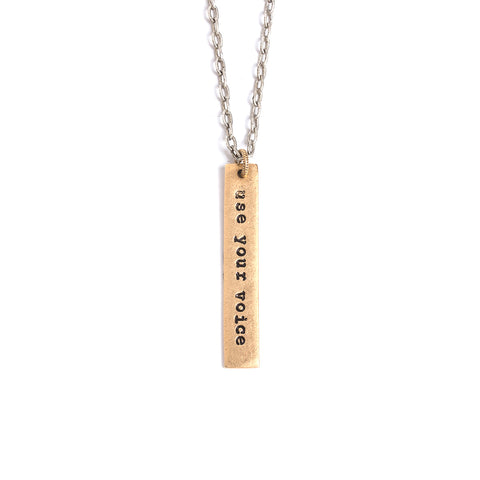 Worthy and Enough Long Necklace