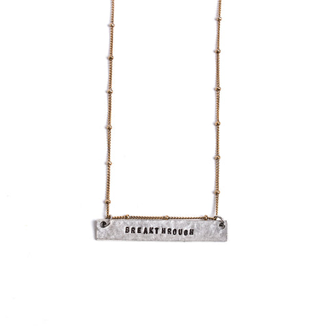 Heaven Inspired Dainty Long Necklace