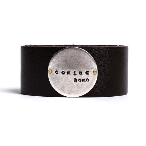 Coming Home Thick Leather Cuff