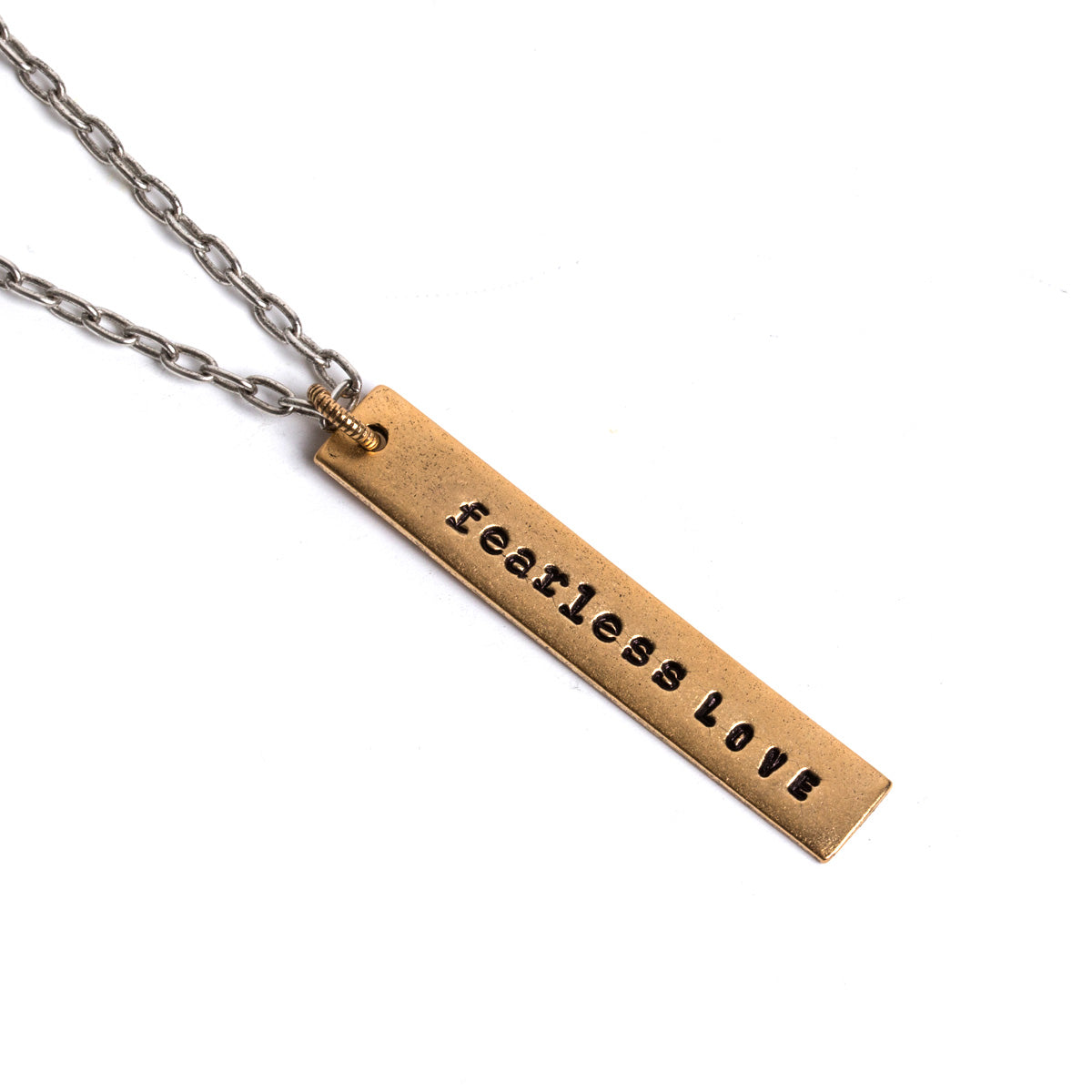 Fearless Love Bezer Necklace