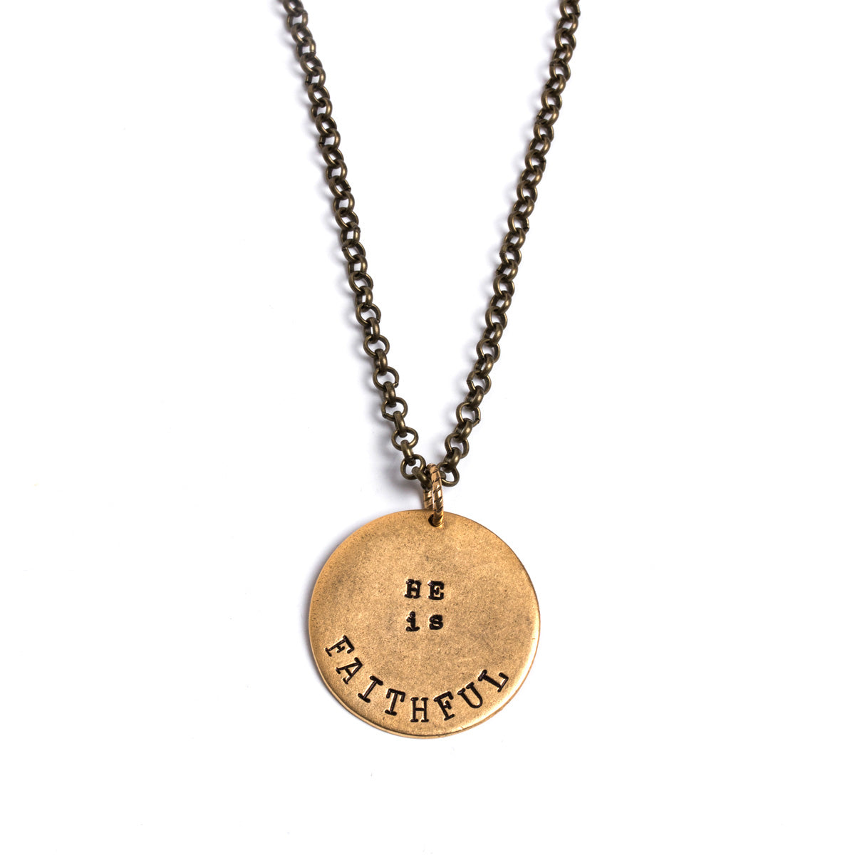 He Is Faithful Bethel Necklace