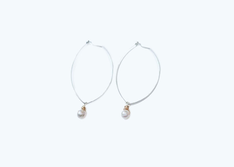 Pearl Drop Earrings - Stocking Stuffer