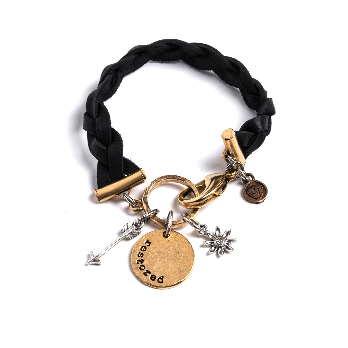 Heaven Inspired Black Cypress Bracelet