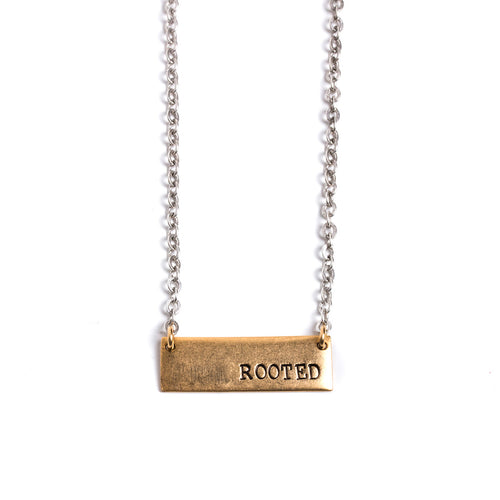 Hope/Rooted Tema Necklace