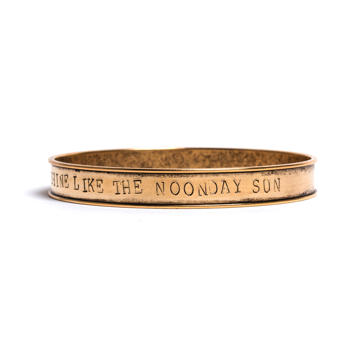 Tamar Stamped Bangle