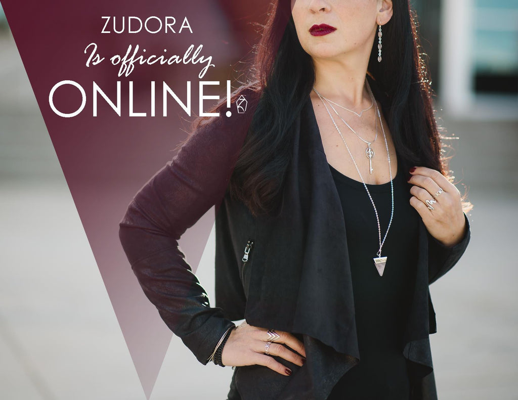 Zudora Jewellery is officially ONLINE!