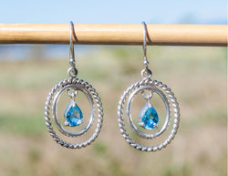 Blissfully Blue Earrings