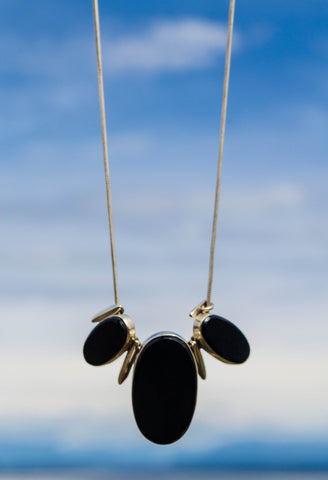 Black Motif Necklace