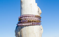 Blush Beauty Wrap Bracelet