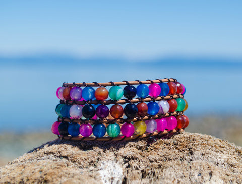 Colour Fusion Wrap Bracelet