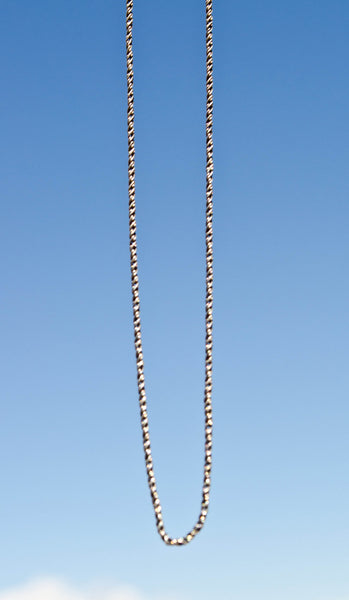 Oxidized Chain Sterling Silver Chain