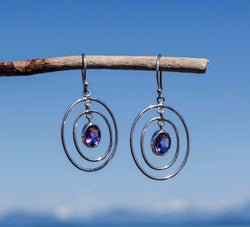Amethyst Dreams Earrings