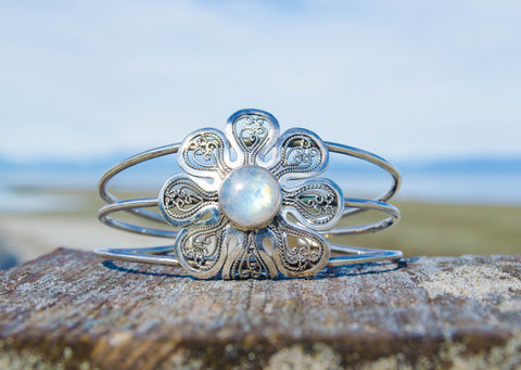 Moonflower Cuff