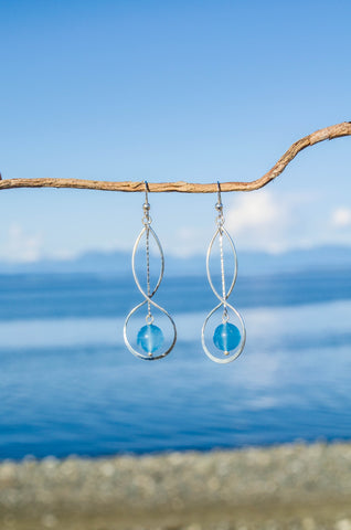 Indigo Blue Earrings