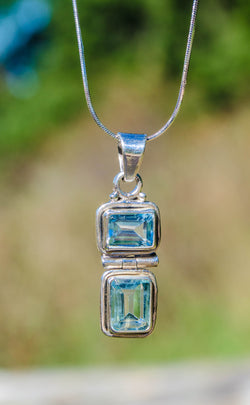 True Blue Pendant