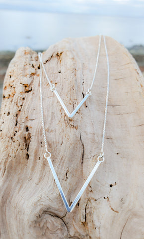 Fine Lines Necklace