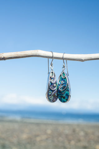 Paua Power Earrings