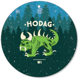 Hodag Canvas Ornaments