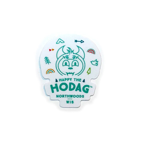Happy the Hodag Icons of the North Little Sticker