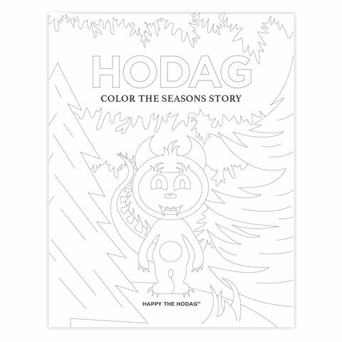 Hodag Digital Coloring Sheets