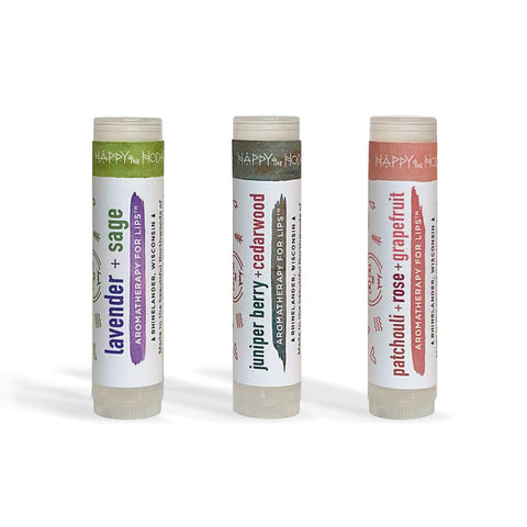 Essential Oil Lip Balms : Aromatherapy for Lips